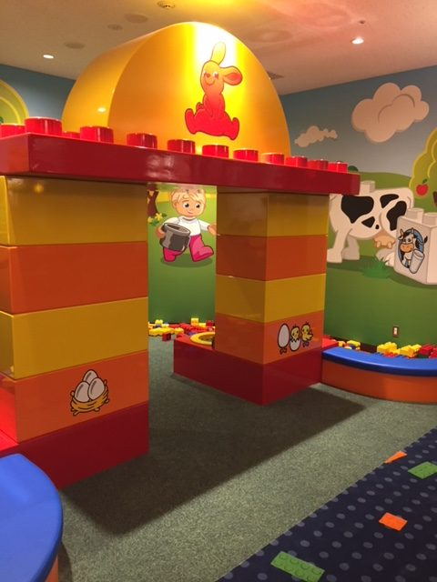 Legoランドホテル内